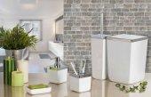 Primanova Toskana 5 Parça Banyo Seti Beyaz Renk