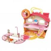 Minik Hamster Ve Eğlenceli Evi Pembe