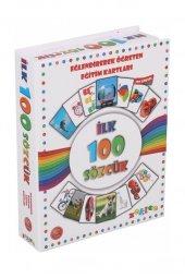 Ilk 100 Sözcük Zekice Eğitici Kartlar Eğlenceli...
