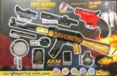Pubg Flare Oyuncak Seti 10 Parça Akm Assault Rifle