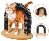 Purrfect Arch Kedi Tarak Fırça Kendini Tarama Tırmalama Aparatı
