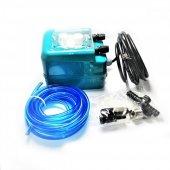 Sanayi Tipi Bulaşık Parlatıcı Pompa Motor (Mavi) (No 3)