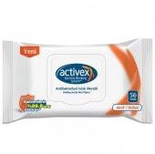 Activex Antibakteriyel Islak Mendil Aktif Kapak...