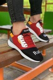 Keeway Solar Anr Siyah Kırmızı Günlük Ayakkabı