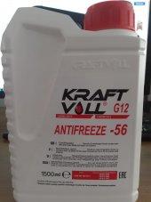 Kraftvoll Antifriz Konsantre Kırmızı 56c 1500ml
