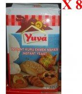 Yuva Kuru Ekmek Hamur Mayası 125 Gr 8 Paket...
