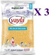 Yayla Pilavlık Bulgur 1 Kg 3 Paket