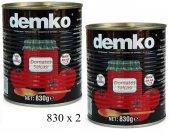Demko Domates Salçası Teneke 830 Gr X 2
