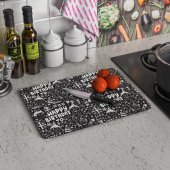 Decovetro Happy Birthday Görünümlü Cam Kesme...