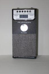 Platoon Pl 4338 Fm Usb Sd Bluetooth Speaker Müzik Kutusu Fm Radyo