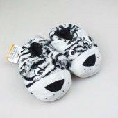 Akınal Bella Hayvan Figürlü Çocuk Pandufu 28 29 Numara Siyah Beyaz