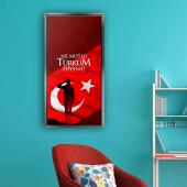 GÜMÜŞ ÇERÇEVELİ KANVAS TABLO126