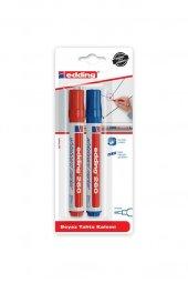 Edding 260 Yazı Tahtası Kalemi Kırmızı Mavi