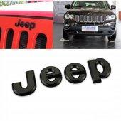 Jeep Yazı Siyah Arma