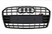 Audi A7 S7 Krom Siyah Panjur 2015 2017