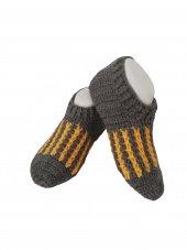 Nuh Home El Örme Kışlık Kısa Bayan Patik Çorap...