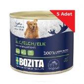 Geyik Etli Tahılsız Köpek Konserve Maması Bozita 625 Gr X 5 Adet