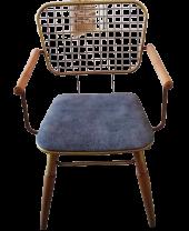Bengi Zlf Tel Sandalye Metal Transmisyon Mat Gold  Renk -6