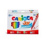 Carioca Joy Keçeli Boya Kalemi Yıkanabilir 24'lü