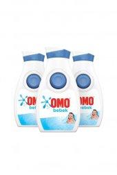 Bebek Hassas Ciltler Için Sıvı Çamaşır Deterjanı 900 ml 18 Yıkama - 3lü Paket