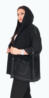 Sürmeli Triko Ghada Bayan Kapşonlu Bluz Takım 17102