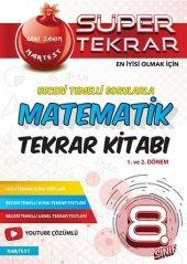 Nartest 8. Sınıf Matematik Süper Tekrar Kitabı