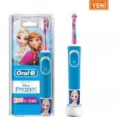 Oral B Çocuklar İçin Şarj Edilebilir Diş Fırçası D100 Frozen Özel Seri