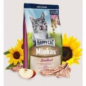 Happy Cat Minkas Sterilised Tavuklu Kısır Kedi Maması 10 Kg