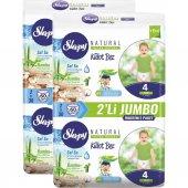 Sleepy Natural Külot Bez 4 Numara Maxi 120 Adet...