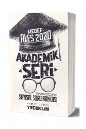 Yediiklim Yayınları 2020 Ales Akademik Seri Sayısal Bölüm Tamamı Çözümlü Soru Bankası