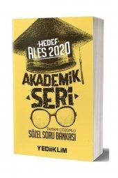 Yediiklim Yayınları 2020 Ales Akademik Seri Sözel Bölüm Tamamı Çözümlü Soru Bankası