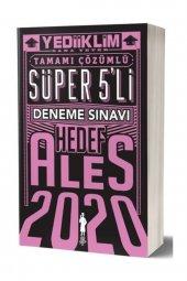 2020 Ales Tamamı Çözümlü Süper 5 Li Hedef Deneme Sınavı