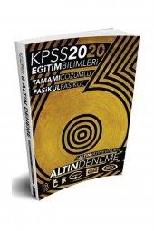 2020 Kpss Eğitim Bilimleri 6 Altın Tamamı...