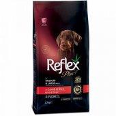 Büyük Irk Yavru Köpekler İçin Reflex Plus Kuzu...