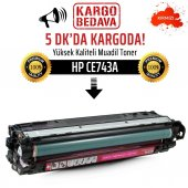 HP CE743A Kırmızı Muadil Toner /NP/307A/CP5220/CP5225/CP5225N/CP