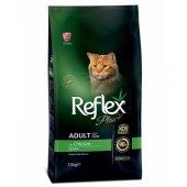 Yetişkin Kediler İçin Reflex Tavuk Etli Mama 15 Kg