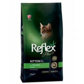 Reflex Plus Yavru Kediler İçin Tavuklu Mama 15 Kg