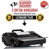Lexmark T630 Muadil Toner /NP/12A7460/T630n/T632/T632dtnf/T634/T