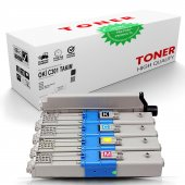 Oki C301 Muadil Takım Set Toner/WB/C321/C321dn/MC332dn/MC342dn