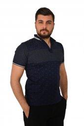Teqne Man Nokta Çiçekli Erkek Tişört