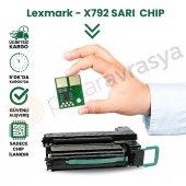 CHIP LEXMARK X792 SARI TONER ÇİP 20K