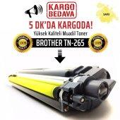 Brother TN-265 Sarı Muadil Toner /NP/DCP-9015CDW/HL-3140CW/HL-31