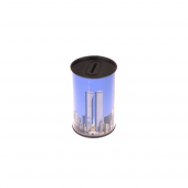 Nerox Mavi Küçük Metal Kumbara Nrx 1015ny