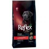 Reflex Plus Kuzu Etli İri Irk Yetişkin Köpek...