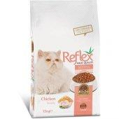 Yavru Kediler İçin Tavuk Etli Reflex Mama 15 Kg