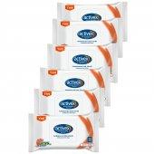 Activex Antibakteriyel Islak Mendil Aktif 6lı...