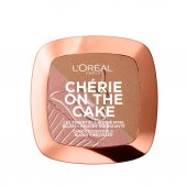 Loreal Paris Cherie On The Cake Allık Ve Bronzlaştırıcı Pudra 01 Milk Chocolate