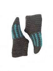 Nuh Home Bayan El Yapımı Kısa Çorap