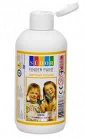 Südor Beyaz Parmak Boyası - 250 ml Tüp Şişe