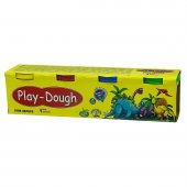 Play Dough 4 Renk Oyun Hamuru